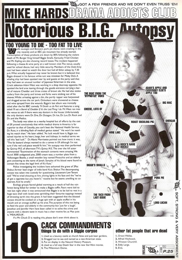 Fat Lace Magazine » Classic Magazines #6 (B I G  R I P )